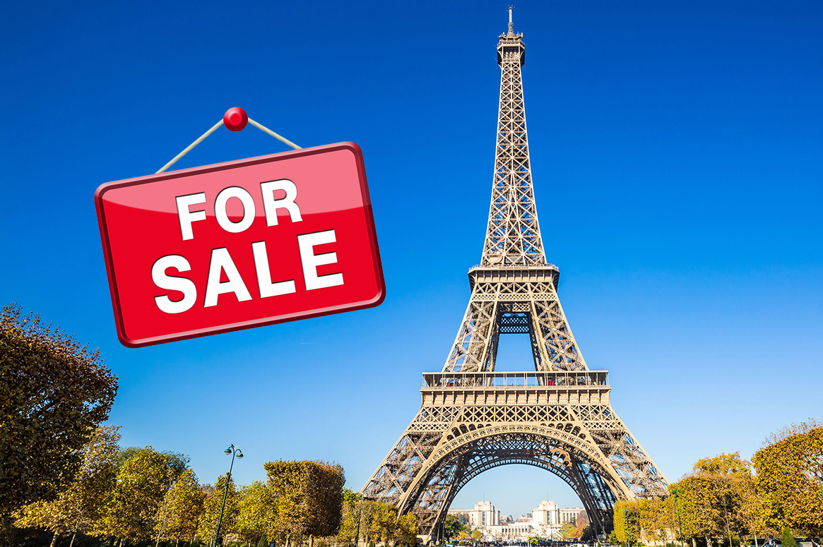 eiffel tower paris sale